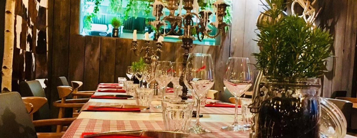 Le restaurant - Le Chalet de mon père -  Restaurant Saint Herblain